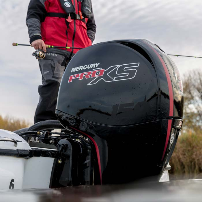 mercury outboard motor fishing